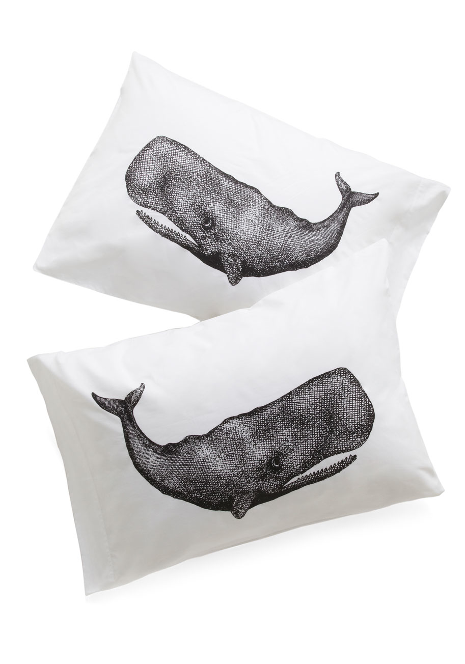 AL Whale Pillow Case