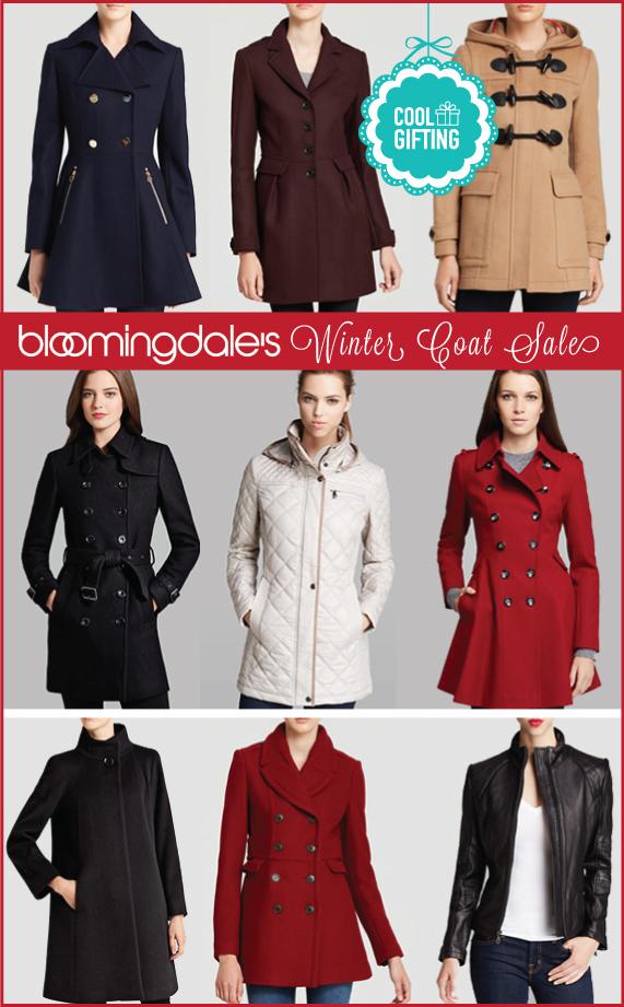 Bloomingdale's Winter Coat Sale – Cool Gifting