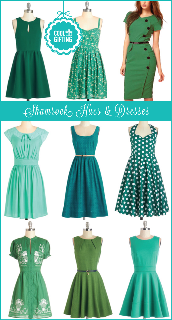 Shamrock hue dresses for st patrick s day cool gifting