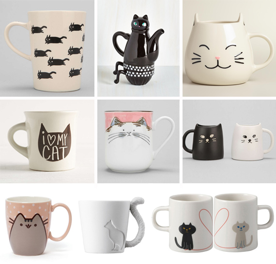 Cat Mugs For Your Lover Or Lady