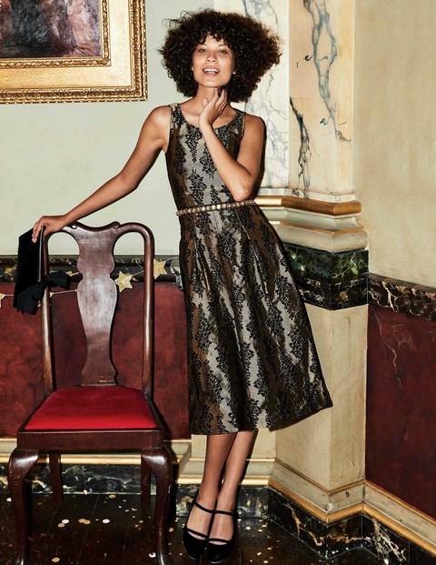 Stylish Jacquard Party Dress