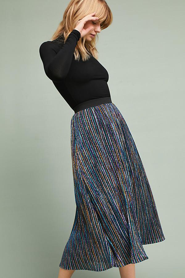 Sparkle Knit Maxi Party Skirt